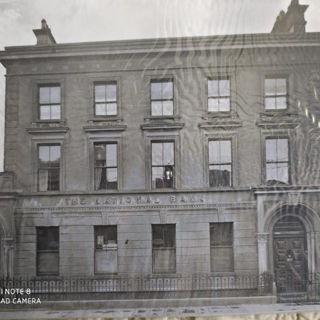 The history of the National Bank in Carrick-on-Suir