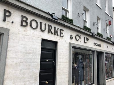 P Bourke & Co Ltd Menswear