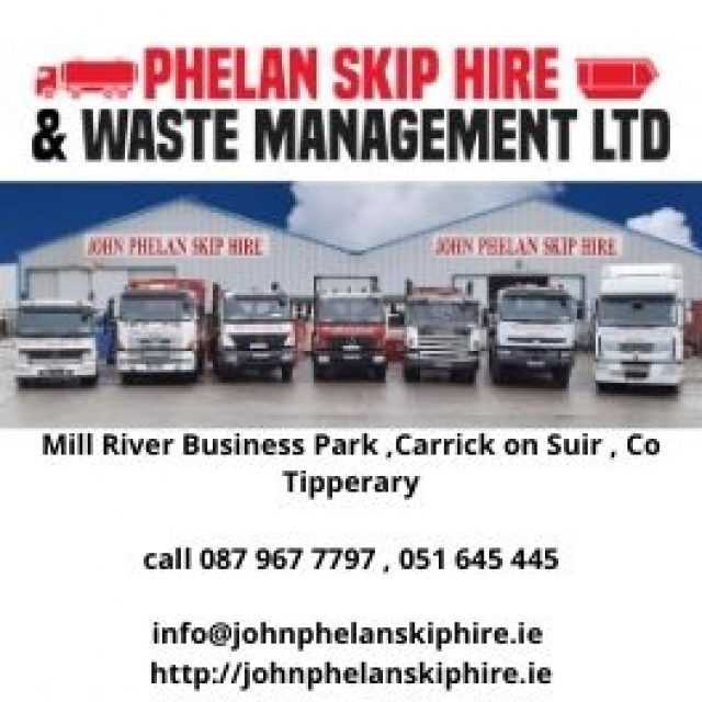 J PHELAN SKIP HIRE AND WASTE MANAGEMENT LTD.