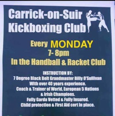 Kickboxing Carrick On Suir
