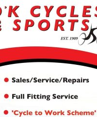 O'K CYCLES & SPORTS