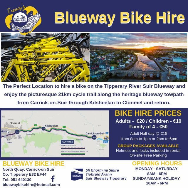 Treacy's Blueway Bike Hire